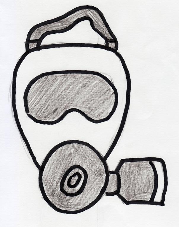 Gas Mask:768